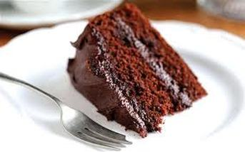 Microwave moist chocolate cake